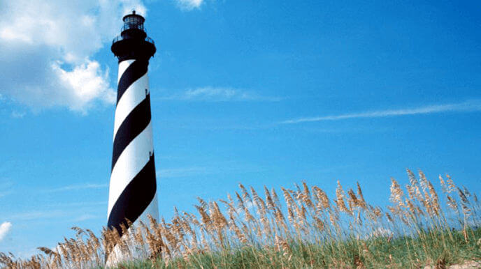 Cape Hatteras Lighthouse in Buxton NC
